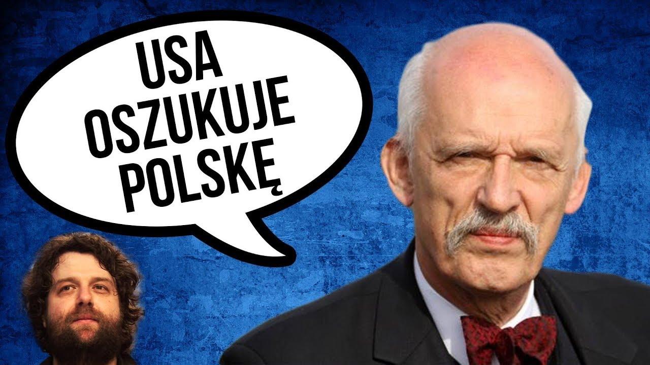 Korwin Mikke mówi, że USA i CIA Oszukują Polskę i Unię ws Rosji - Komentator