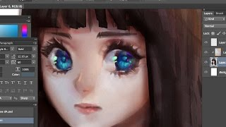 Painting in Photoshop w/ a Mouse