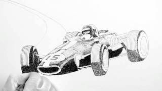 How to Draw a Gurney Eagle F 1 #5