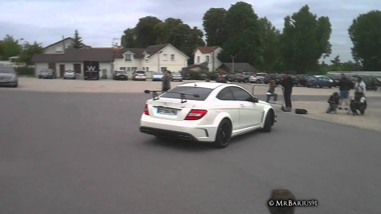 white mercedes c63 amg black series details acceleration youtube - Mercedes Benz C63 Amg Black Series White