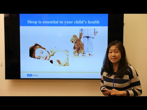 A Good Night's Slumber: Tips for Healthy Sleep Habits in Children | #UCLAMDCHAT Webinar