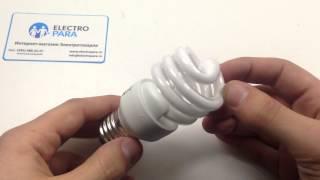 OSRAM DULUX MICRO TWIST 15W/840 E27, обзор энергосберегающей лампы от electropara.ru