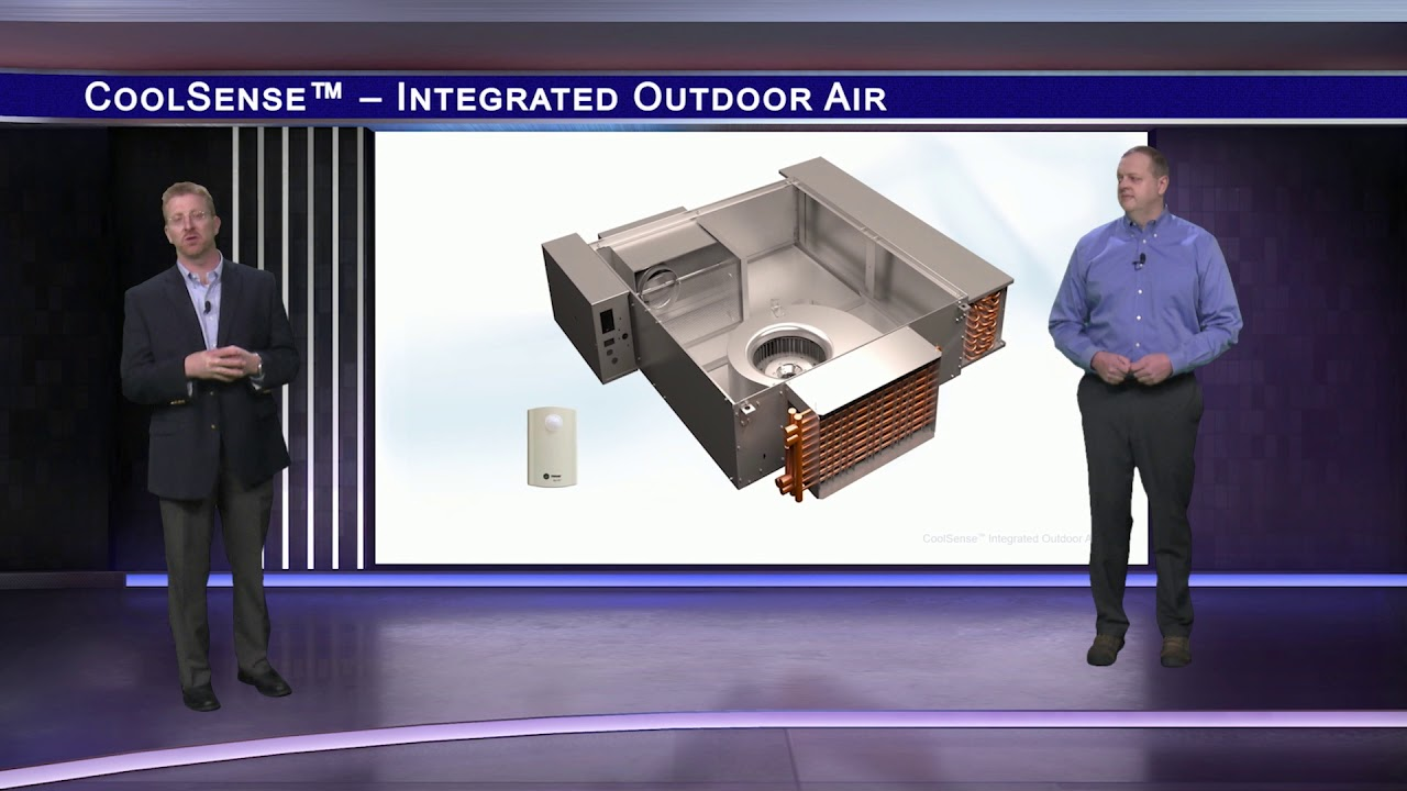 Trane CoolSense™ Integrated Outdoor Air System