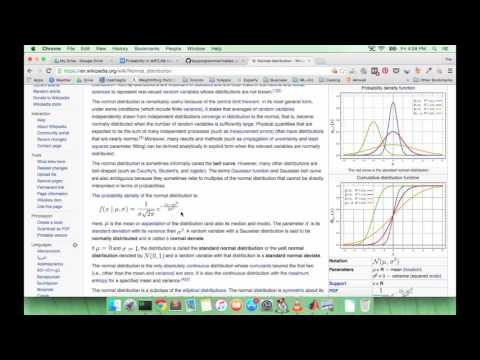 Learn MATLAB Episode #28: Gaussian (Normal) Distribution