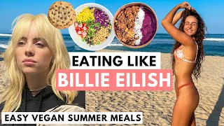 I Ate Like Billie Eilish For A Day  easy, vegan &amp realistic