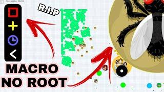 MACRO NO ROOT + ZOOM NO ROOT in AGAR.IO // MACROx999 - AGARIO MOBILE
