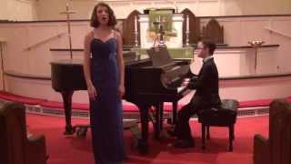 Naomi and Peter performing Ave Maria and Prelude 1 BWV 846