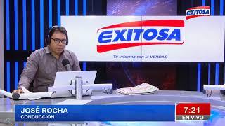 Jose Rocha en Exitosa programa completo 10/01/18