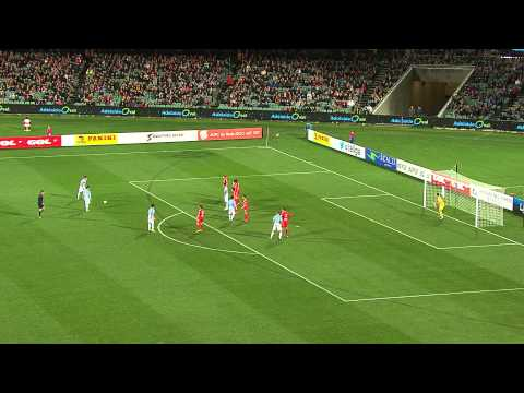 LFP 2014 Adelaide United FC v Málaga CF at Adelaide Oval