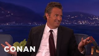 Matthew Perry's Porn Watching Disaster  - CONAN on TBS