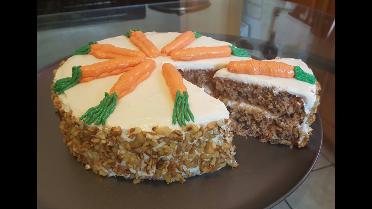 Carrot Cake Youtube