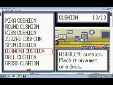 pokemon ultimate mega ruby cheat codes