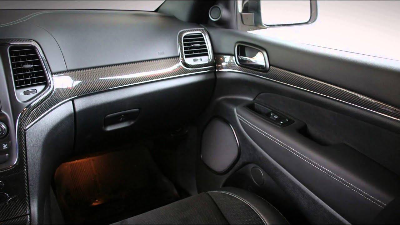 Тюнинг карбоном салона Jeep Grand Cherokee SRT8 от Carbon Motors