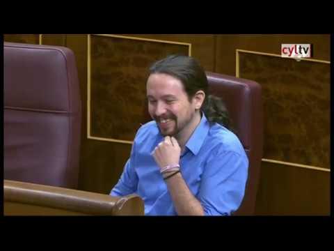 Pablo Iglesias llama 'delincuente' a Rajoy y el presidente le replica con Venezuela e Irán