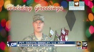 Pvt. Dakota Brinkley, U.S. Army