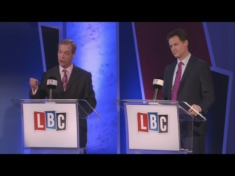 Debating Europe: Nick Clegg and Nigel Farage