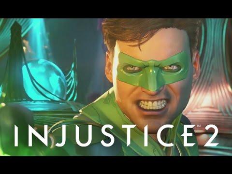 Injustice 2 - 5. SEA OF TROUBLES: Green Lantern [Aquaman, Cheetah, Bane, Atrocitus]