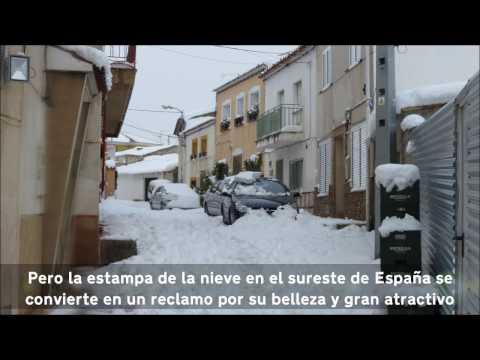 RINCONES DE LORCA (MURCIA) SPAIN: 6. Nevada en Lorca (Full 1080p HD)