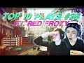 REACTED SO HARD I LOST MY VOICE!! (Top 10 Plays #35 ft. Red Frozy)