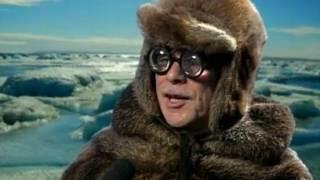 Holländer Helge Schneider in der Arktis