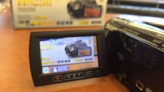 Panasonic Hs250 hd harddrive camcorder test for sale