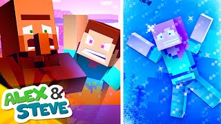 WOULD YOU RATHER - Alex and Steve Life (Minecraft Animation)
