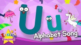 Alphabet Song - Alphabet 'U' Song - English song for Kids