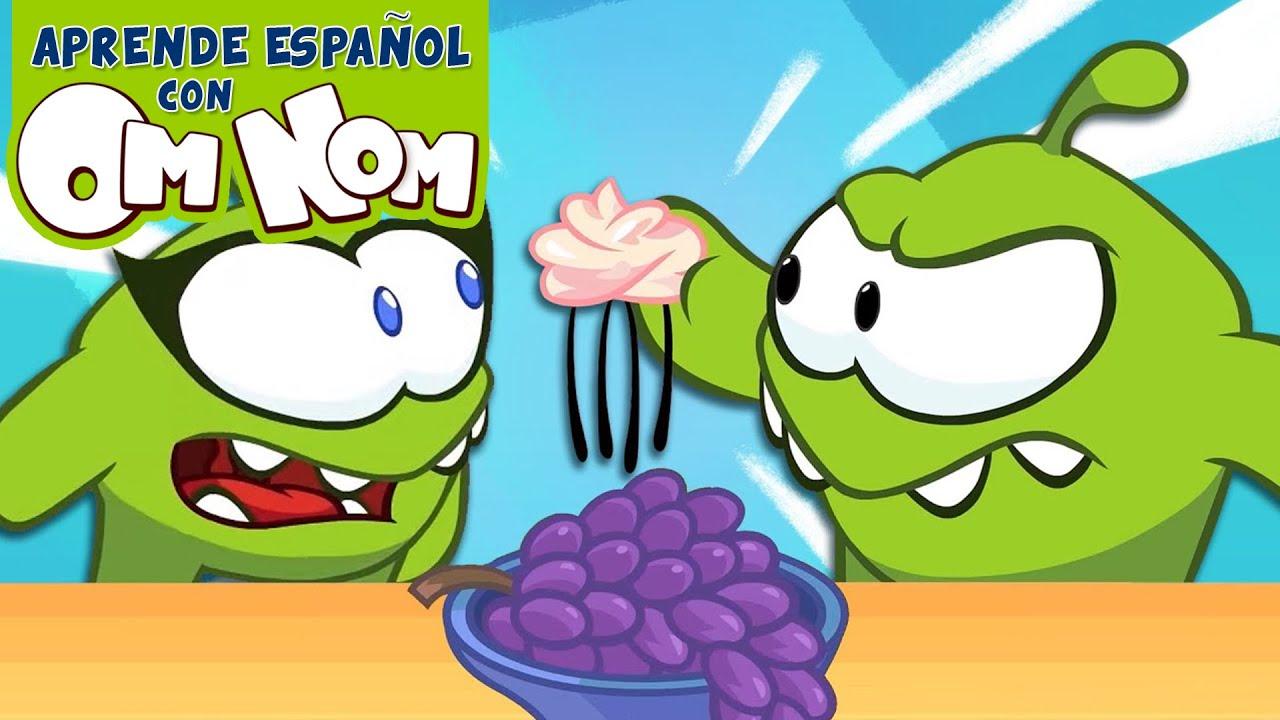¡Descubre qué cosas hay en la casa de Om Nom!   Aprende Español con Om Nom
