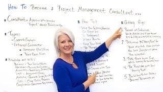 Advice for Aspiring Project Management Consultants - Project Management Training