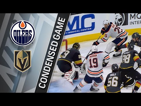 01/13/18 Condensed Game: Oilers @ Golden Knights