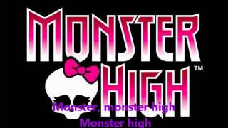 Monster High Fright Song (with lyrics)