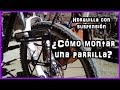 Viajar en bicicleta | ¿cómo poner parrilla en horquilla con suspensión? | biciadosdeviaje