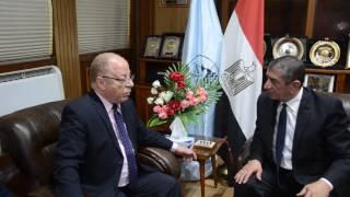فيديو.. النمنم يصل كفر الشيخ لافتتاح المركز الثقافي بالمحافظة