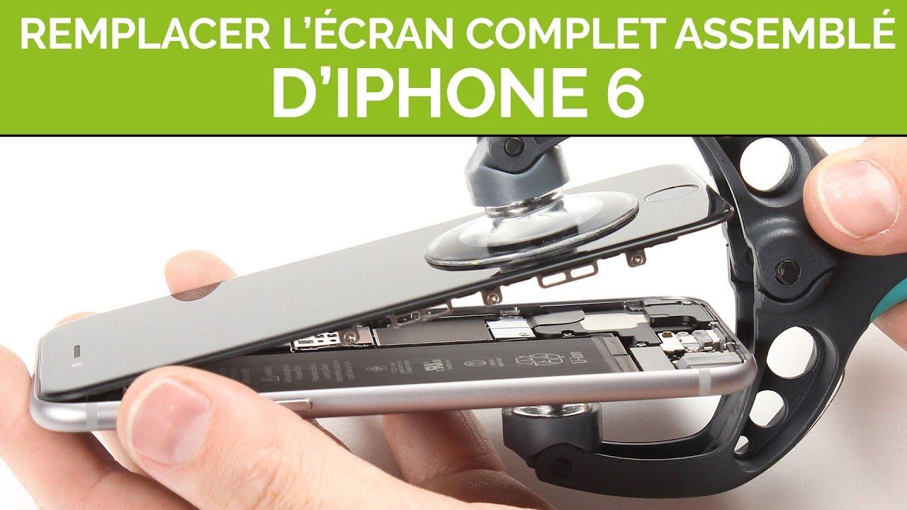 f6fbd5537077a4 Réparer l écran pre-assemblé de son iPhone 6, par SOSav - YouTube