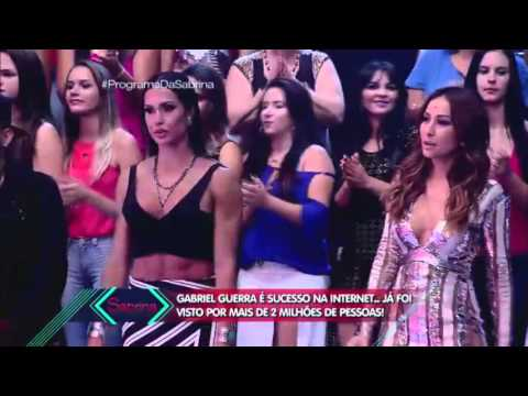 Programa da Sabrina - Participação do cantor Gabriel Guerra