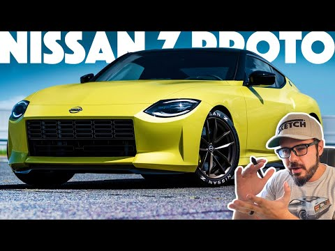 This is the six-speed, twin-turbo NISSAN Z PROTO and I have A LOT to say about it