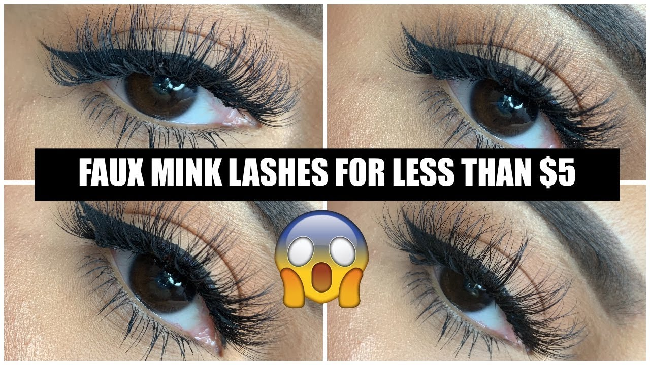 585af07fbd0 THE BEST AFFORDABLE LASHES | ALIEXPRESS FAUX MINK LASHES - YouTube