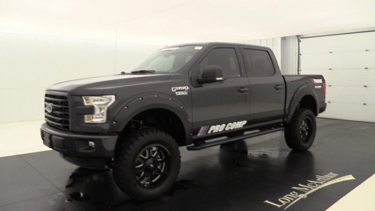 2016 Ford F 150 Pro Comp Xtreme Youtube