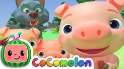 Three Little Pigs | CoComelon Nursery Rhymes & Kids Songs