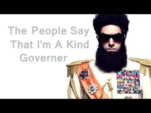 The Dictator   Aladeen MotherFucker English Lyrics