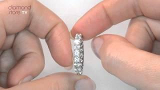HG34 - Chloe 2ct Diamond Eternity Ring In Platinum