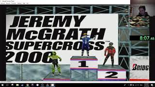 Jeremy Mcgrath supercross 2000 indoor series Speedrun 32:36.99