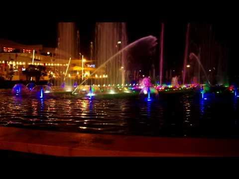 Taiwan Fountain At Night - Tirana Albania