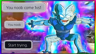 He Said I Was A Noob, So I Beat Him With Kaiwareman (Saibamen) | Dragon Ball Xenoverse 2