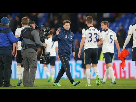Tottenham focused on more than just finishing above Arsenal, says Pochettino – video