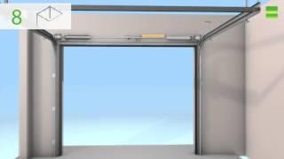 Монтаж секционных ворот для гаража Алютех Classic (видео-инструкция)