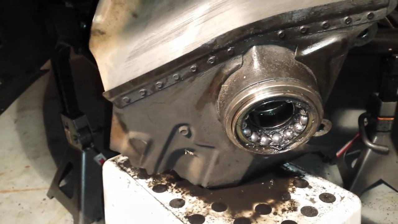 Removing bearings on x5