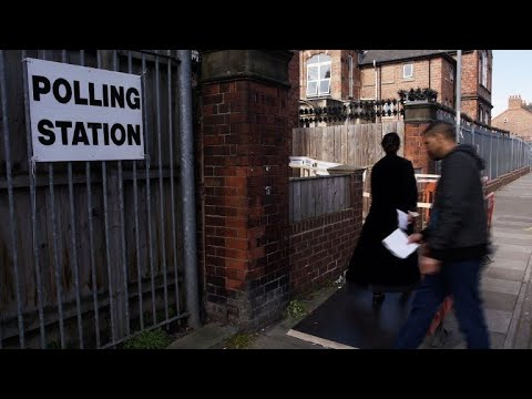 In Brexit stronghold, voters cast their ballot in EU elections