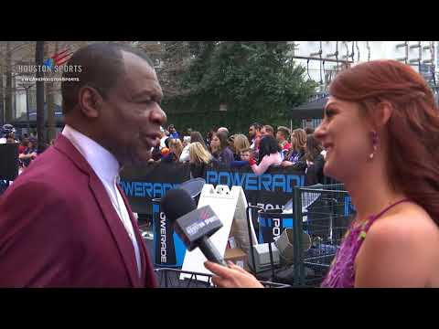 Houston Sports Awards: Powerade Blue Carpet Calvin Murphy