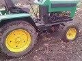Поделки - Самодельный трактор с китайским движком